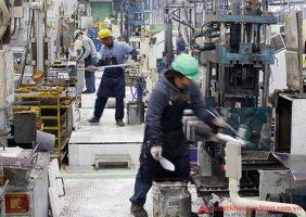 Tuyển 10 nam đúc kim loại tại Shizuoka, Nhật Bản